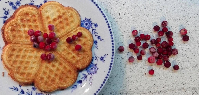 Heart shaped pancakes