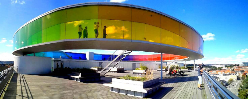 The Rainbow Panorama at Aros Art Museum