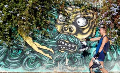 Skates & street art