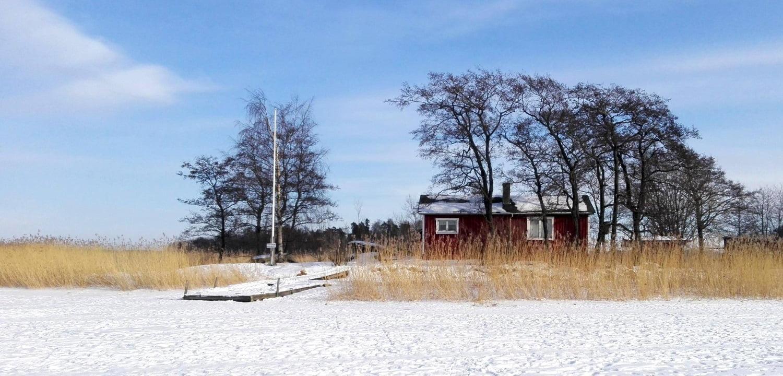 Helsinki frozen sea