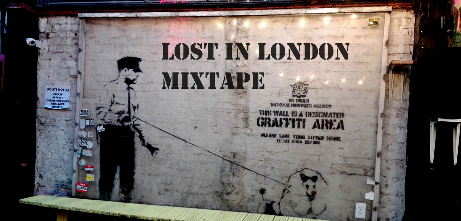 Graffiti in London by Banksy