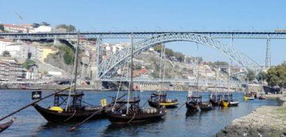 Eiffel Bridge in Porto
