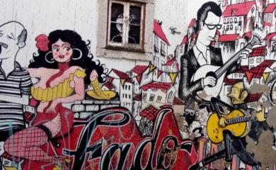 Lisbon wall