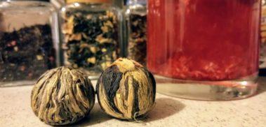 Tea balls and jam