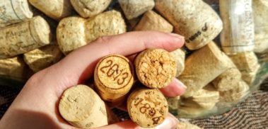Real (not plastic) corks