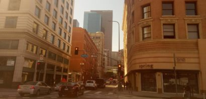 Streets in Downtown LA