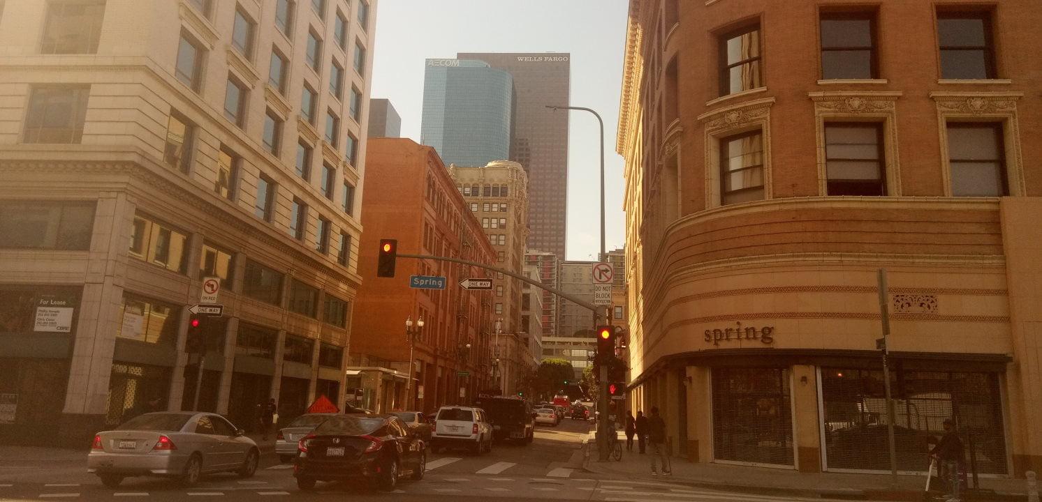 Streets in Downtown LA