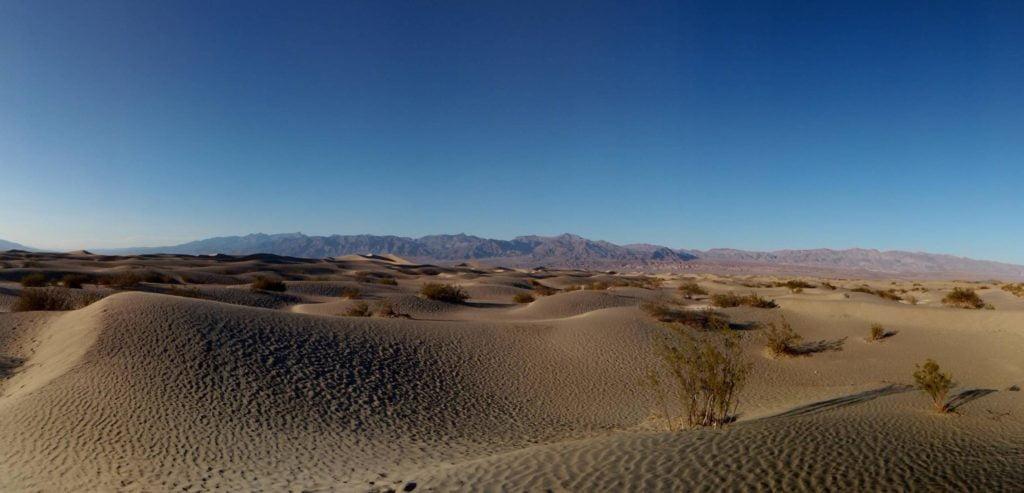 Flat Sand Dunes
