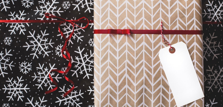 Wrapped Christmsas presents