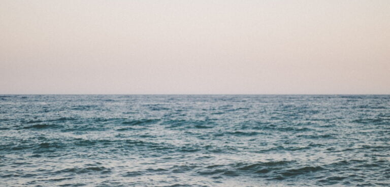 Ocean horizon
