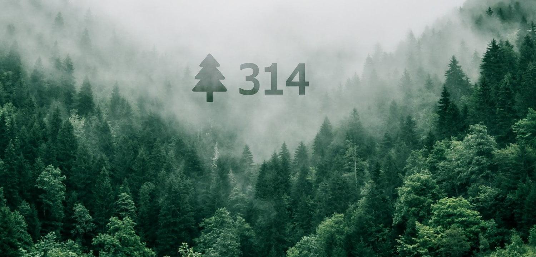 314 Trees