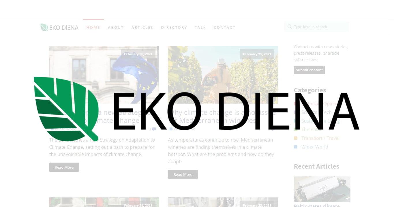 Eko Diena logo